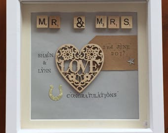 Wedding frame 8x8