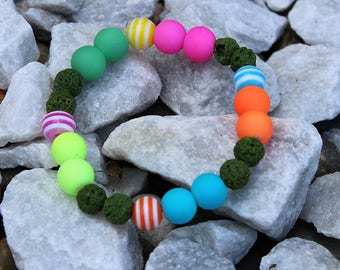 Maggie Aliene Collection Aromatherapy Essential Oil Children's Diffuser Bracelet