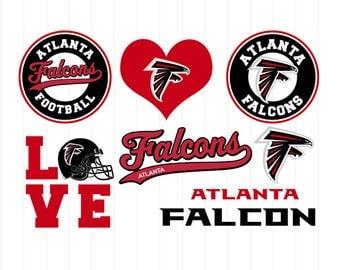 INSTANT DOWNLOAD - Atlanta Falcons Svg, Atlanta Svg, Falcons Svg, Atlanta Clipart, Falcons Clipart, American Football Atlanta Falcons Svg
