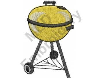 BBQ Grill - Machine Embroidery Design