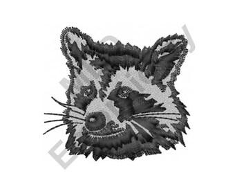 Raccoon - Machine Embroidery Design