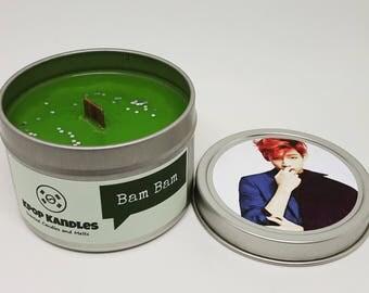 Bam Bam- 4OZ- Scented Candle- Got7- Kpop- JYP- Wood Wick Candle- Kpop Candle- Kpop Gifts- IGot7