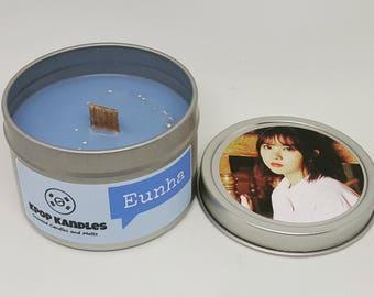 Eunha- 4OZ- Scented Candle- Gfriend- Kpop- Wood Wick Candle- Kpop Merch- Kpop Gift- Korean- Hallyu