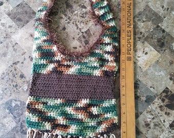 Camoflage Cross body Hand Bag