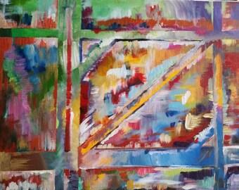 Shades of Mind: Abstract Acrylic Art