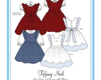 Bonnie Blue Designs 161 - Tiffany Noel / Sizes 6, 12, 18 & 24 months and 3, 4, 5, 6 yrs