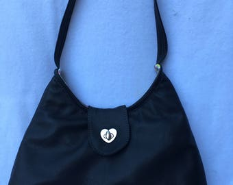 GENUINE Black leather Phoebe handbag