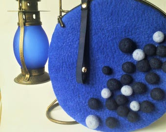 "Felted bag ""Bubble"""