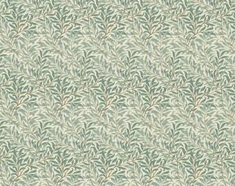 William Morris Willow Bough Minor privet honeycombe Fabric per meter