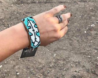 Custom Beaded Wrist cuff