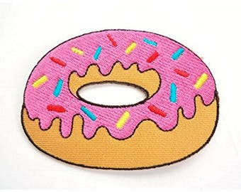 Pink Donut Patch W.Ch.Patch