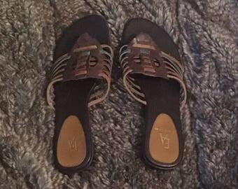 Etienne Aigner Vintage Sandals- Size 8