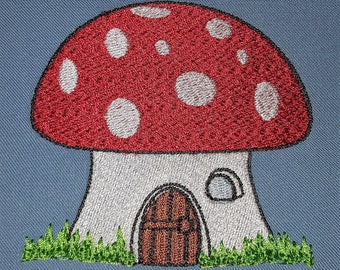 "Embroidery File ""Gnome House"""