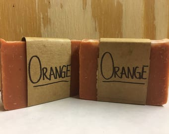 Organic Orange Soap 2.3-3.2oz