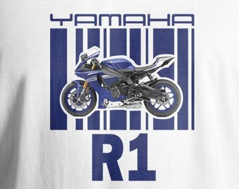 Yamaha T-Shirt, Men's T-Shirt, Women's T-Shirt, Motorcycle T-Shirt, Yamaha R1/Daddy's R1, Bike T-Shirt,