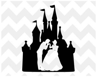 Cinderella SVG | Cinderella Castle SVG | Disney SVG | Magic Kingdom Castle Silhouette Cricut | svg cut file | Cinderella Castle svg