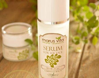 All Natural Hyaluronic Acid Serum. Plus A Gift. Organic Serum. Natural Serum. Serum Anti-Aging. Plumps Wrinkles. Intense Hydration.