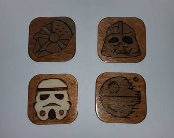 Star Wars Coaster Set of 4