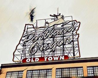 The Portland Sign - Portland