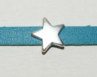 Passing Star 5 mm leather, set of 5