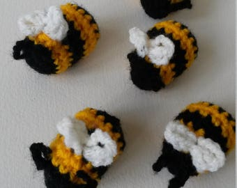 Crochet Bumble bees