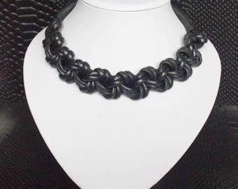 Choker necklace/macrame necklace/Macrame choker