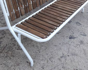 Antique folding vintae ep 1960 Garden Bench