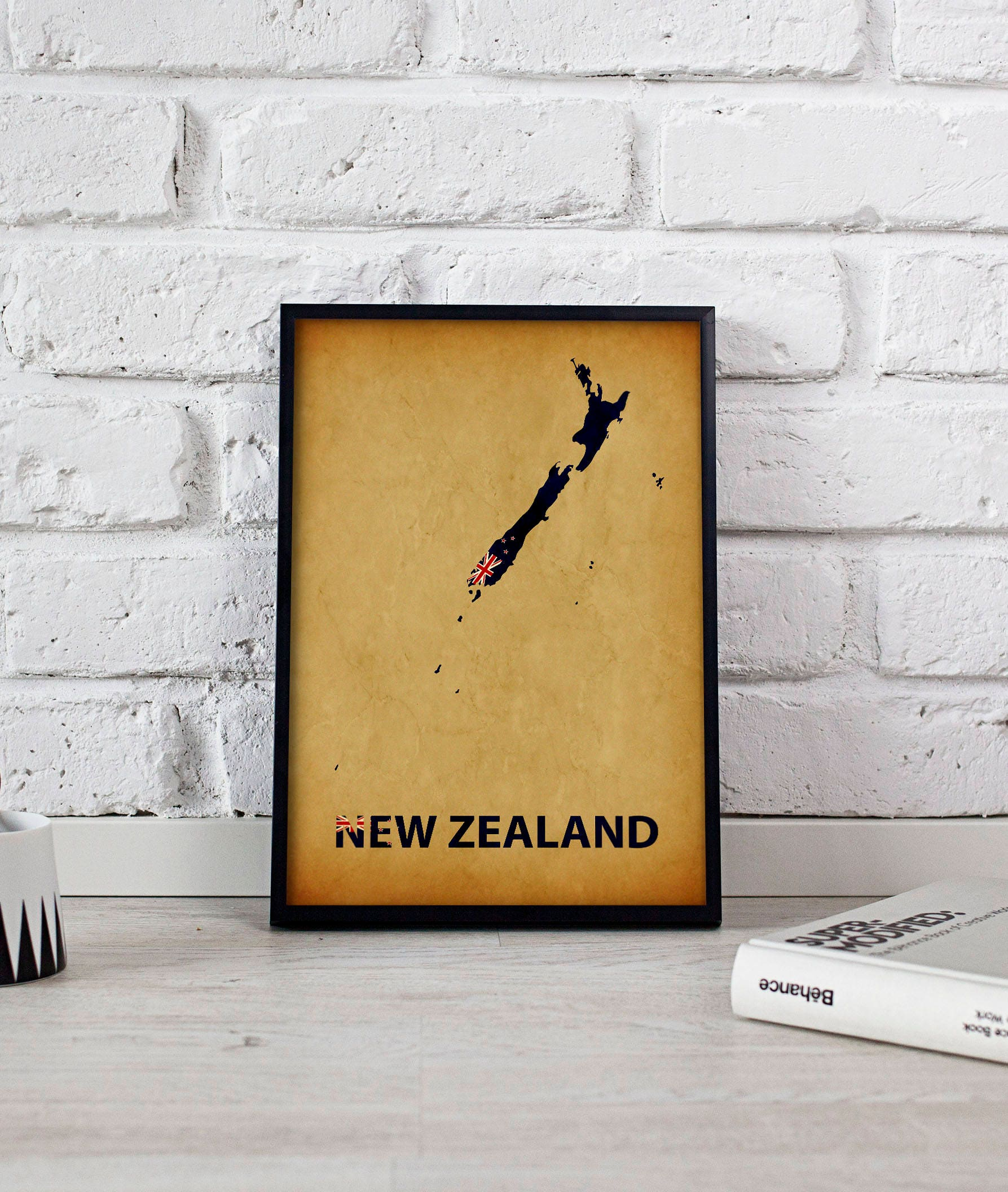 Magnificent New Zealand Wall Art Frieze - Wall Painting Ideas ...