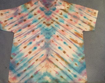 "tie dye t-shirt adult large""frozen"""