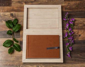 Custom Photo Book, Wedding Album, WITH Custom Book Case