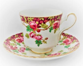 Royal Stafford Cup and saucer-Bone China England