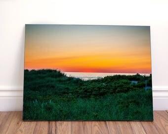 Sunset landscape V wall art canvas