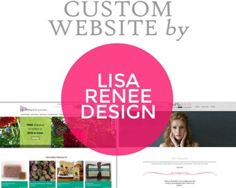 Custom Responsive Website Design With Up to 6 Pages - Mobile Responsive