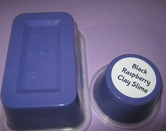 Black Raspberry Clay slime