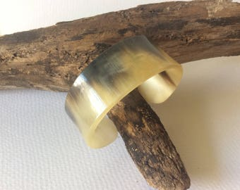 Vintage small cows horn bangle