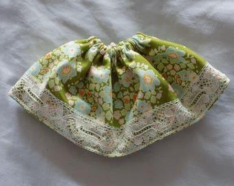 Elastic skirt flower pullip