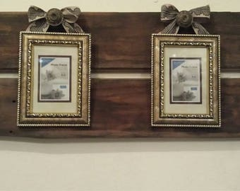 Rustic Vintage Style Picture Hanging Wall Mounted Decorative Accent Decor