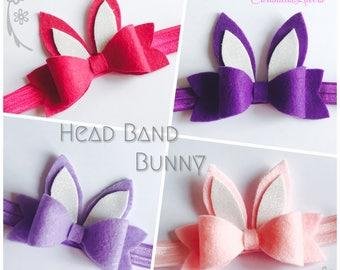 Baby Bunny Head Band