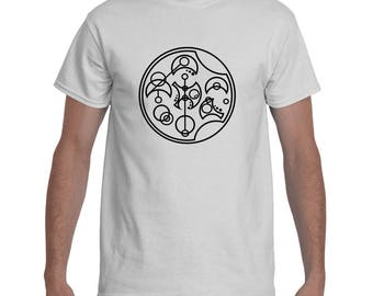I Train To Run With The Doctor Gallifreyan Women's Workout Shirt