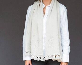 Malvina paisley scarf