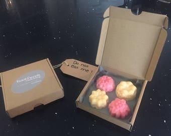 Jumbo melts in a mini pizza box