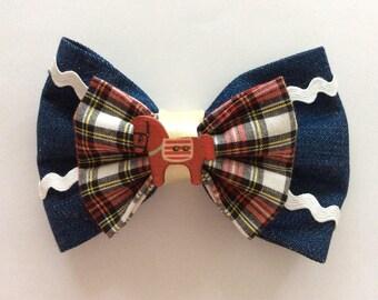 Disney Pixar Jessie Toy Story Cowgirl inspired hair bow