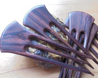 3 Prongs Wood Hair Sticks, Hair Pin, Hair Fork, Hair Comb, Hair Accessories HS263