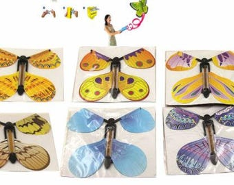 Magic Flying Butterfly. Make your own flutter greeting card. butterfly card
