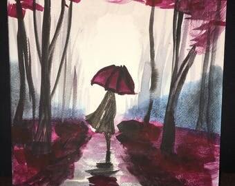 Raining Fuchsia