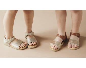 Glitter Band Sandal