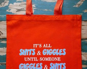 Giggles Tote Bag