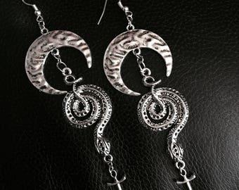 Serpent & Dagger Earrings