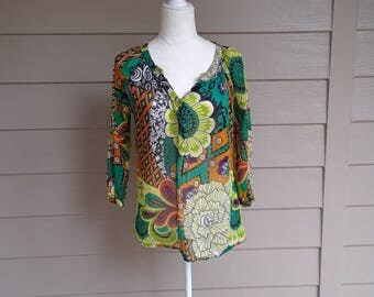Gorgeous Batik Cotton Tunic