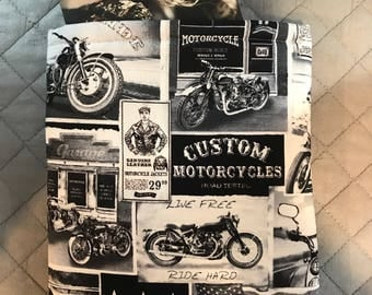 Motorcycle Book Sleeve - Small